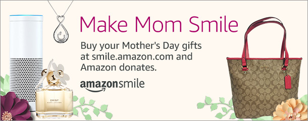 Amazon Smile for Mother's Day
